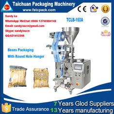 Good Quality Packing Machine Catalogue & SoyBeans Vertical Packaging Machine, beans packing machine with round hole hanger on sale