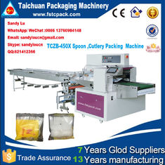 Good Quality Packing Machine Catalogue & Cutlery/Spoon/Fork/napkin pillow packaging machine wrapping machine on sale
