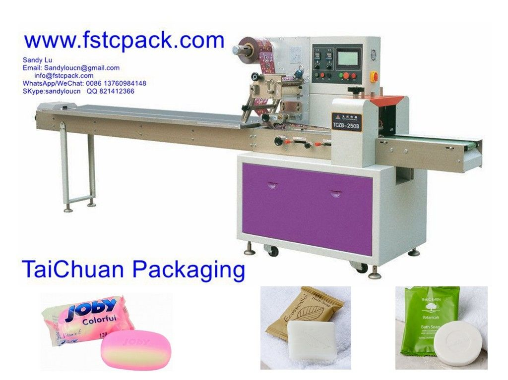 Automatic soap , hotal soap  pillow packing machine